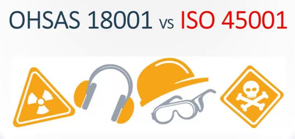 Main difference between ISO 45001 vs OHSAS 18001