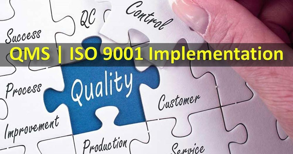 ISO 9001 Implementation Steps for Quality Management Systems